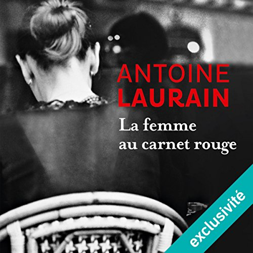 La femme au carnet rouge audiobook cover art