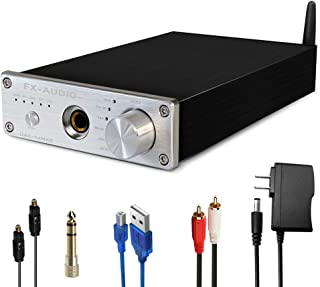 FX AUDIO DAC and Headphone Amplifier DAC-X6MKII 192kHz Bluetooth DAC with Headphone Amp Optical/Coaxial/PC-USB/Bluetooth t...