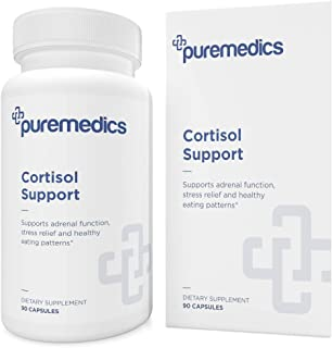 PUREMEDICS Cortisol Support - 13-in-1 Cortisol Supplement to Promote Stress Relief and Healthy Eating Patterns - Pharmaceu...