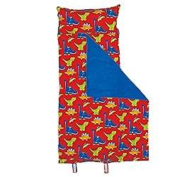 3. Stephen Joseph All-Over RED Dino Print Nap Mat