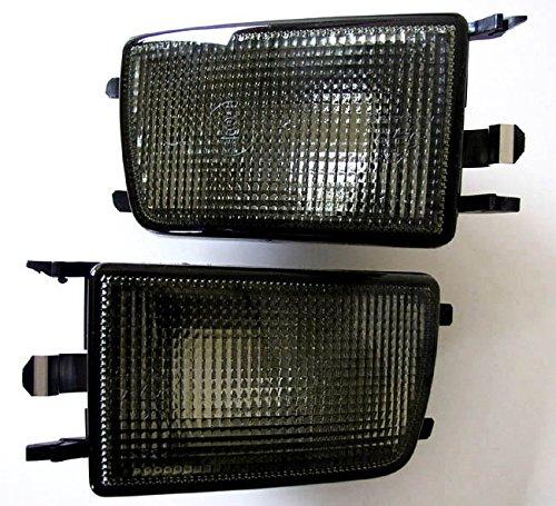 Front- Blinker Blinkleuchten Schwarz Set Links+Rechts Eintragungsfrei Eintragungsfrei