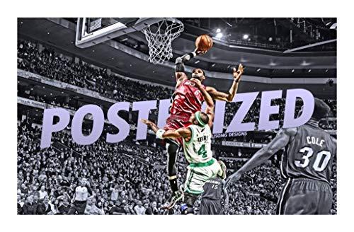 Puzzle NBA Collection Jigsaw Puzzles - Miami Heat: No.6 James Poster 500/1000/1500 Pieces - Ogni Pezzo è Unico, Pezzi Si incastrano Perfettamente (Size : 1500pcs )