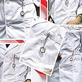 XINZ-BYT Retro Zhicaikeji Nurse Watch Nurse Clip Colgando Mesa Aleación Estudiante Pin Hebilla Bolsillo Reloj de Bolsillo Fácil de Leer Fácil de Llevar (Color: Rojo, Tamaño: 9.5x3cm) Pocket Watch