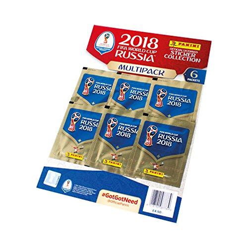 Panini FIFA World Cup 2018 Sticker Multipack