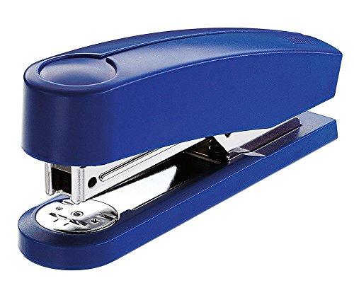 Novus B 2 Heftgerät (25 Blatt, Metall/Kunststoff, inkl. 200 Tackerklammern) blau