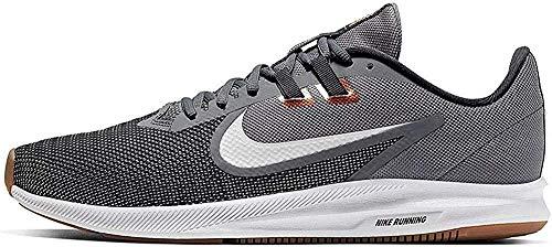 Nike Downshifter 9, Zapatilla De Correr Hombre, Humo Gris/Foto Dust/Dk Humo Gris, 40.5 EU