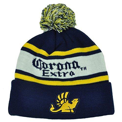 Corona Extra Pom Beanie Hat