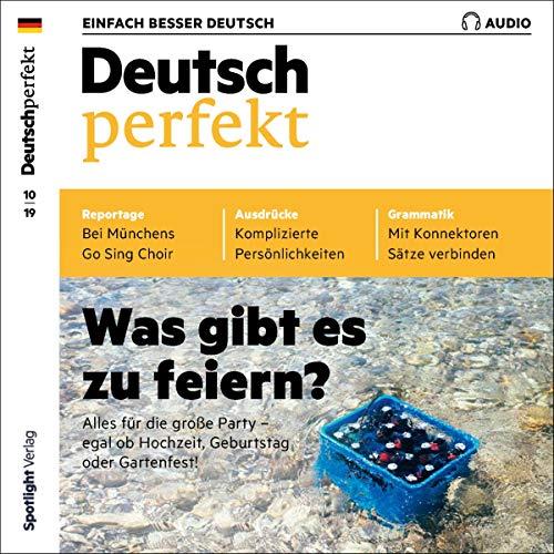 Deutsch perfekt Audio. 10/2019 cover art