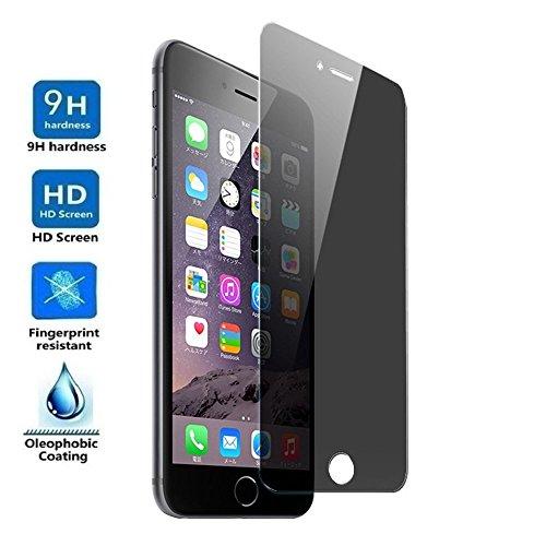 ELECTRÓNICA REY Protector de Pantalla Anti ESPÍA para iPhone 6 Plus/iPhone 6S Plus, Cristal Vidrio Templado Premium