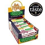 Get Fruity Barrette da 35g gusti misti (Pacco da 25)...