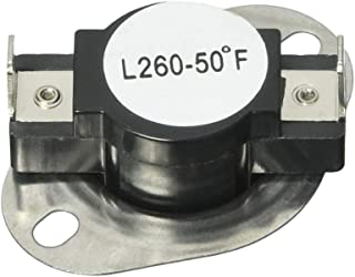 Ketofa DC47-00018A Thermostat Compatible with Whirlpool for Kenmore Maytag Dryer Replace 35001092 503497 AP4201898 High Limit Thermostat -L260-50F