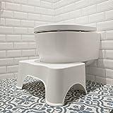ToiletSquat Taburete para inodoro | Ayuda médica para el inodoro | Mejor...