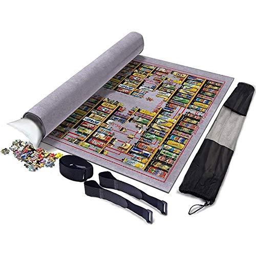 Puzzel Mat Jigsaw Vilt Mat Puzzle Saver Organizer Met Waterdichte Storage Bag - Tot 2000Pcs