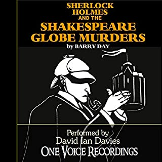 Sherlock Holmes and the Shakespeare Globe Murders audiobook cover art