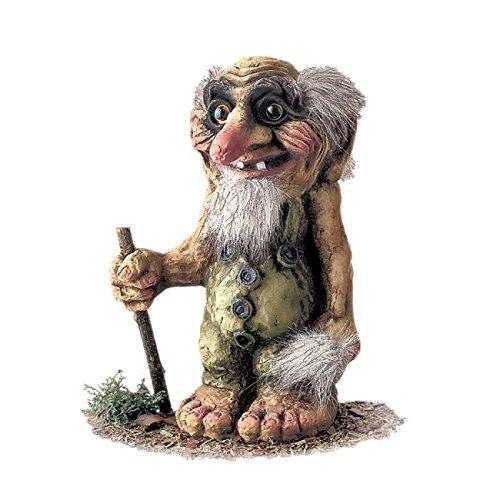 ORIGINAL NORWEGISCHE TROLLE * NyForm Troll mit Zertifikat 111 * Trollgreis 22cm