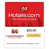 Hotels.com Red Gift Cards - E-mail Delivery