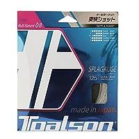トアルソン(TOALSON) テニスガット スプラゲージ 125(ホワイト) 単張りガット 7482510W 0 0