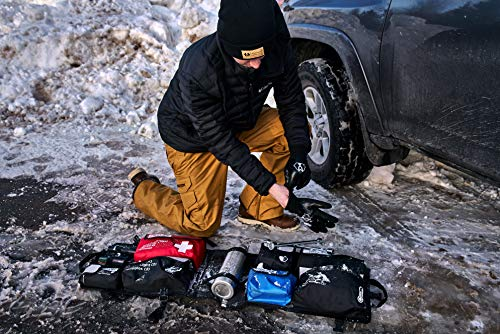 Product Image 1: Uncharted Supply Co The Seventy2 Pro 2-Person Survival System (Black) – 72 Hour Emergency Preparedness Kit – Ideal for Your Car, Home, Survival Readiness, and Camping