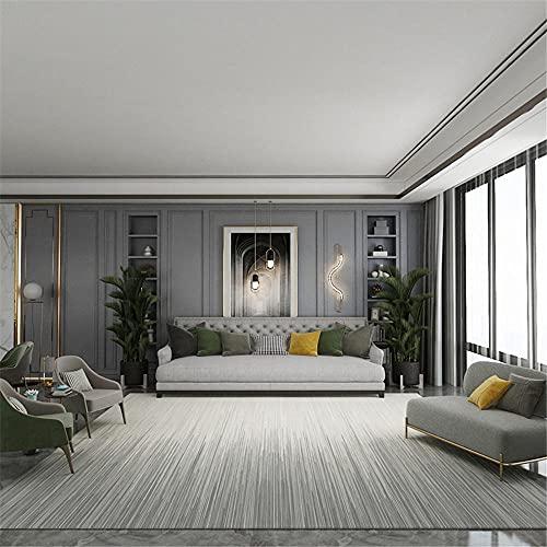 Carpets area rugs for living room Living room non-slip carpet gray cream color gradient stripe design fur rugs for bedroom heart ornaments for the home 160*230cm