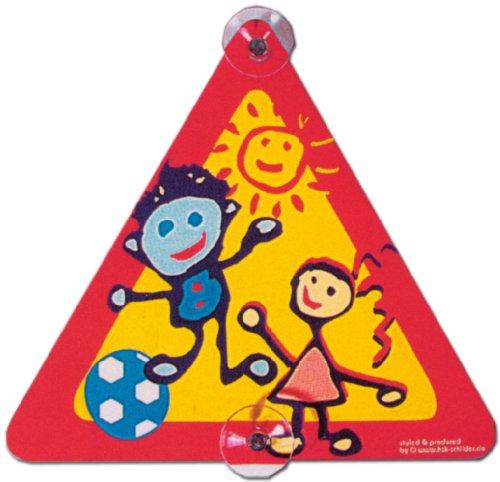 Hinweisschild - Bild : Spielende Kinder , mit Saugnäpfen - Kind Spielen Spiel Schild Warnschild Warnzeichen Arbeitssicherheit Türschild Tür Kunststoff Kunststoffschild Geschenk Geburtstag T-Shirt