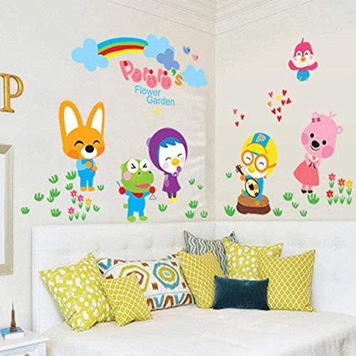 Muursticker,mode, muurschilderingen Cartoon schattig bad badkamer badkamer glazen schuifdeur tegel Stickers kleuterschool decoratie
