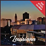 Calendar 2022 Louisiana: Louisiana Official 2022 Monthly Planner, Square Calendar with 19 Exclusive Louisiana Photoshoots from July 2021 to December 2022