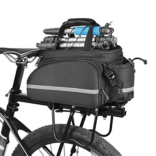 WYZQ Bolsa de Transporte de Bicicletas, Bolsa de Transporte de Bicicletas Maletero Alforja Ciclismo Bolsa de Viaje de Gran Capacidad Bolsas de Paquete Bolsas de Transporte Trasero de Bicicleta 10