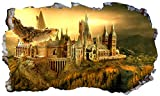 <span class='highlight'>Chicbanners</span> <span class='highlight'>Harry</span> <span class='highlight'>Potter</span> <span class='highlight'>Hogwarts</span> <span class='highlight'>Castle</span> <span class='highlight'>Hedwig</span> Owl 3D Magic Window V668 Wall Sticker Self Adhesive Poster Wall Art Size 1000mm wide x 600mm deep (large)