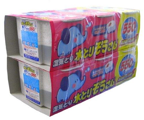 【まとめ買い】水とりぞうさん 550ml 6個パック