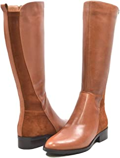 SoleMani Women's X-Slim Collection Trendy Leather/Suede Boots
