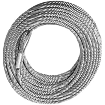 25 x 1//4 All Stainless Replacement Cable for ATV PWC Jetski WAVERUNNER Lift WINCHES
