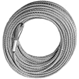 BILLET4X4 Winch Cable - Galvanized - 3/8 inch X 100 ft (14,400lb Strength) (Off-Road Vehicle Recovery)