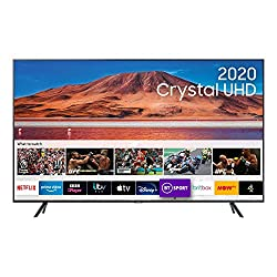 Crystal Display: lose yourself in crystal clear colour Crystal Processor 4K, 4K Upscaling & Adaptive Sound: relax as your TV adapts to give you the very best 4K picture and targeted sound HDR Powered by HDR 10+: enjoy a true-to-life picture with brig...