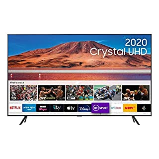 """Samsung 70"""" TU7100 HDR Smart 4K TV with Tizen OS (B086T39T5D) 