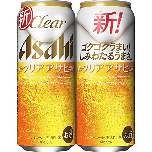 【新ジャンル/第3のビール】クリアアサヒ [ ビール 500ml×24本 ]