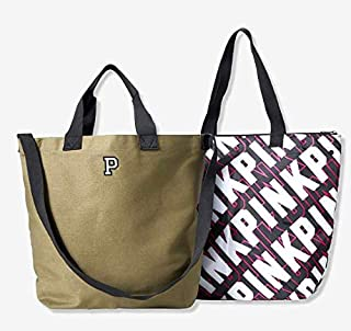 SOLD OUT ONLINE. - VICTORIA SECRET PINK LIMITED QUALITIES COOLER/TOTE BEACH BAG POOL TOTE