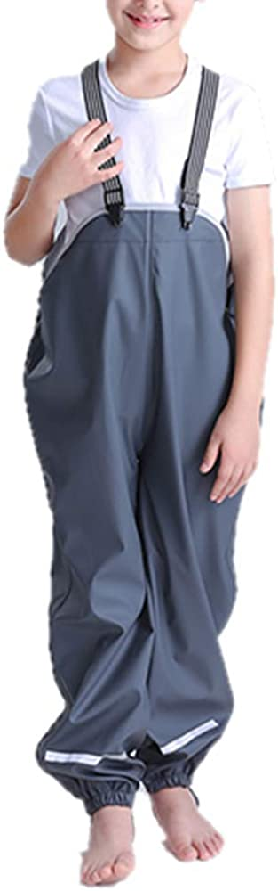 Toddler Waterproof Rain Pants Dirty Outwear Proof Cute Genuine Sales results No. 1 Windbreak