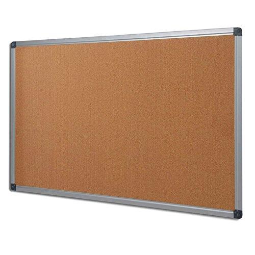 Tableau en liège Office Marshal® série PRO   qualité premium - cadre en aluminium   tailles diverses - 60x90cm