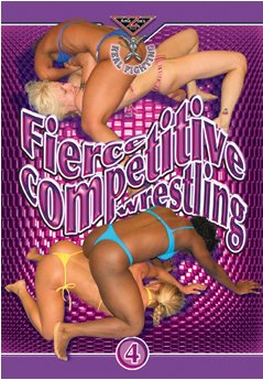 Real Fighting - FIERCE COMPETITIVE WRESTLING 4 DVD Amazon's Prod