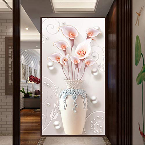 RAILONCH DIY Diamant Painting Kit mit 5D Strass Bilder Handgemachtes Klebebild Stickerei Malerei Digitale Sets Wanddekoration Full Bohrer