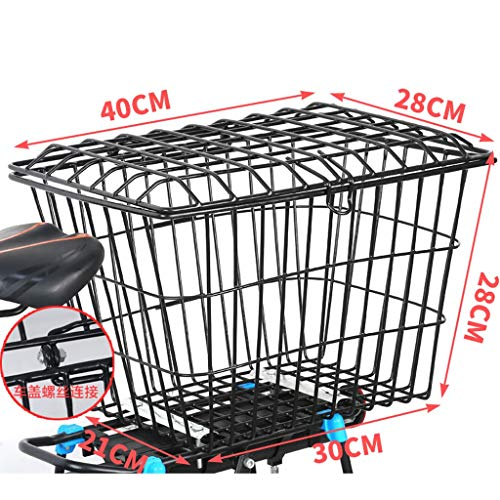 Affordable Hyx Bold Covered Bicycle Basket Bicycle Accessories Folding Basket Removable Hanging Bask...