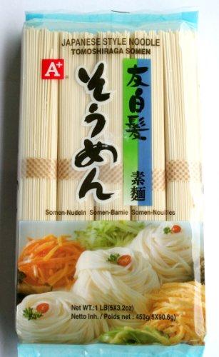 Nudeln nach japanischer Art Tomoshiraga Somen 453 g