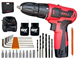 iBELL Cordless Drill Driver CD12-74, 12-Volts (2 Battery+BMC Box+Extra 32 Accesories) - 6