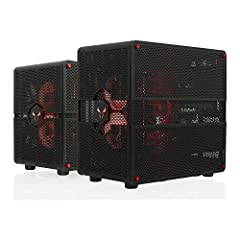 Resizable from mid-to-mini tower configuration High-density perforated mesh on all sides for superior cooling 2x USB-C and 2x USB3.0 ports Dual compartments to isolate heat and streamline airflow supports EATX, ATX, microATX and mini-ITX motherboards