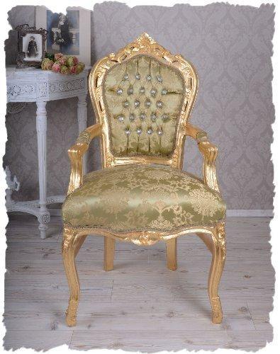 PALAZZO INT Königlicher Thron Sessel Gold cat535a04