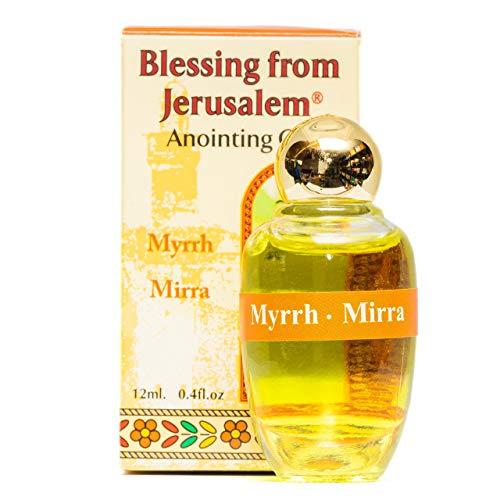Myrrhe- geweihtes Salböl de Jerusalén. 12 ml.