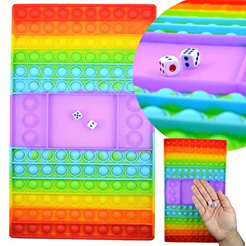 JONOTOYS Magic Pop It - Juego de dados para niños, 30 cm