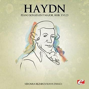 Haydn: Piano Sonata in F Major, Hob. XVI:23 (Digitally Remastered)