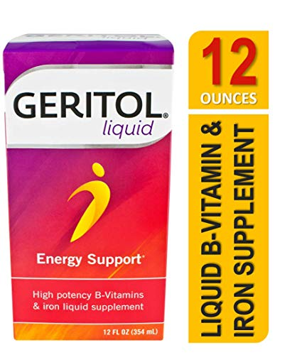 Geritol Liquid Energy Support