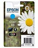 Epson C13T18024010 - Cartucho de tinta, cian válido para los modelos Expression Home XP-425, XP-422, XP-415, XP-412, XP-212, XP-202, XP-102 y otros, Ya disponible en Amazon Dash Replenishment, Normal